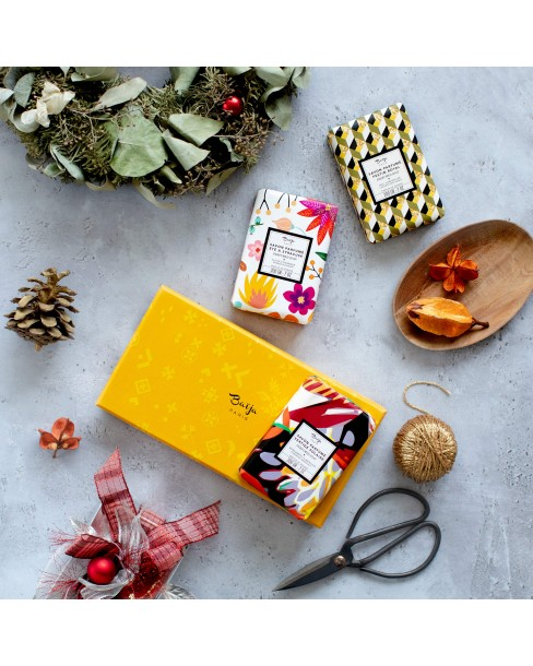 Coffret Trio Savons Solides • Yellow Mood
